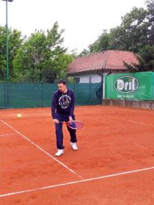 Veljko Barjaktarović, teniski klub Dril