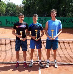 Mihailo Lasica i Luka Kalenić teniski klub Dril.
